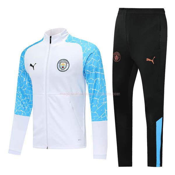 giacca manchester city i bianco 2020-21